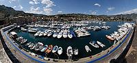 Foto panoramiche a 360 del Santa Boat Show 2008